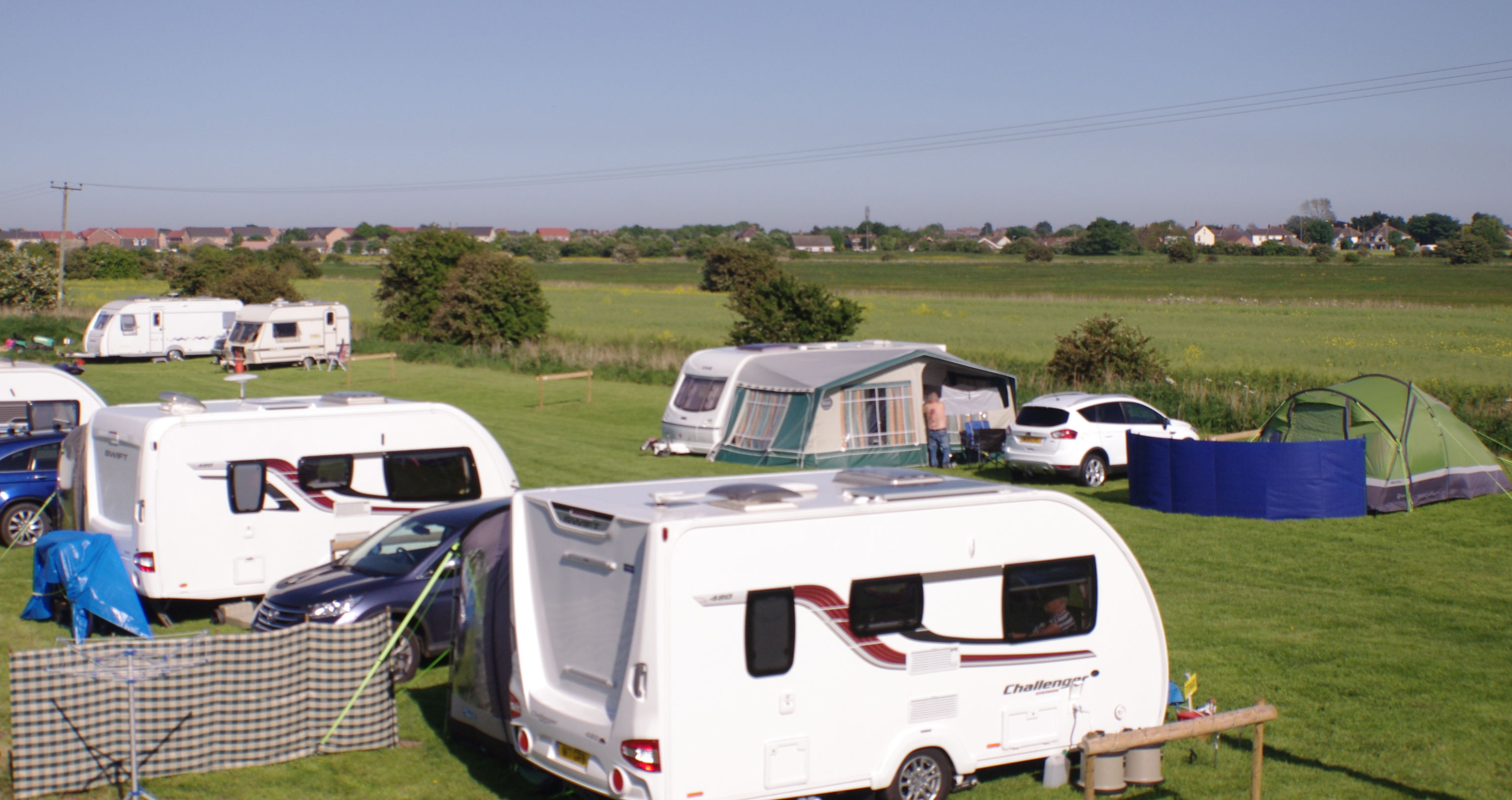 Camping and Caravanning Club rally